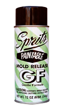 Sprits GF Paintable Silicone Spray